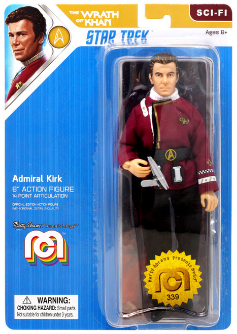 Star Trek The Wrath of Khan Admiral Kirk Action Figure
