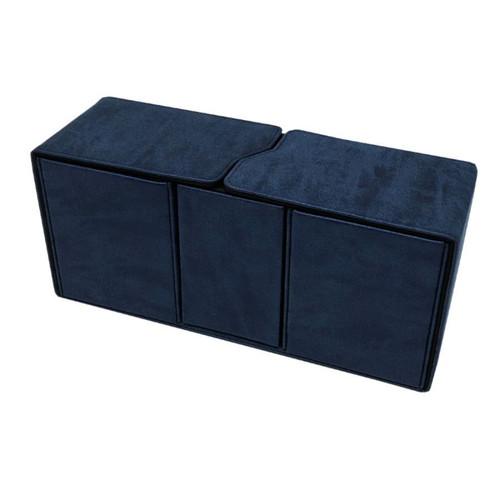 Ultra Pro Alcove Vault Suede Collection Sapphire Flip Box