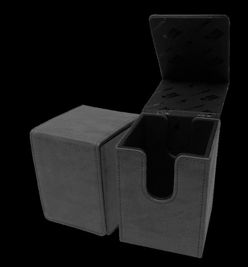 Ultra Pro Alcove Suede Collection Jet Flip Box