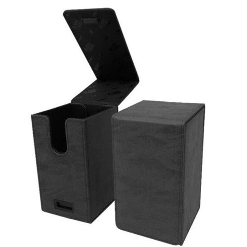 Ultra Pro Alcove Tower Suede Collection Jet Flip Box