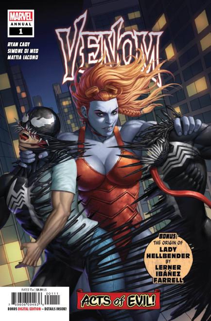 Marvel Venom Annual #1 Comic Book