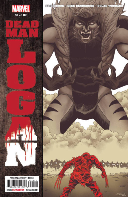 Marvel Comics Dead Man Logan #9 of 12 Comic Book
