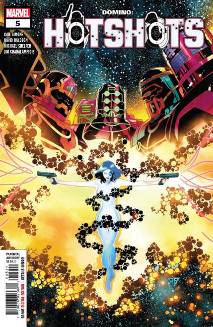 Marvel Comics Domino Hot Shots #5 of 5 Comic Book