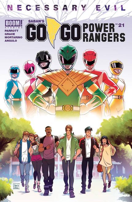 Boom Studios Go Go Power Rangers #21 Necessary Evil Comic Book