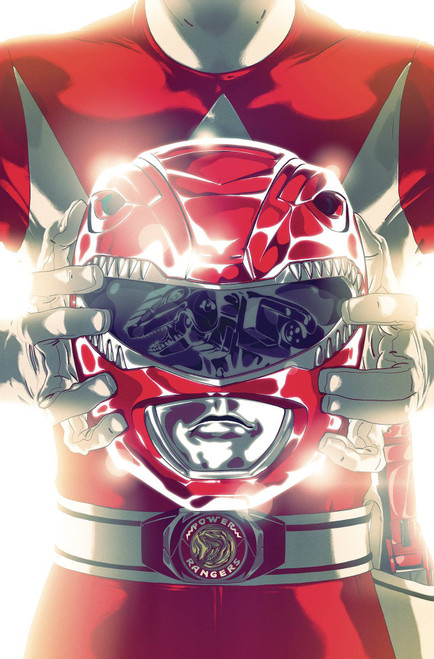 Boom Studios Mighty Morphin Power Rangers #41 Necessary Evil Comic Book [Goni Montes Foil Variant Cover]