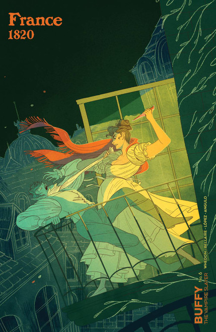 Boom Studios Buffy The Vampire Slayer #6 Comic Book [Alexa Sharpe Variant Cover C]