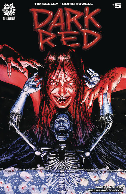 Aftershock Comics Dark Red #5 Comic Book