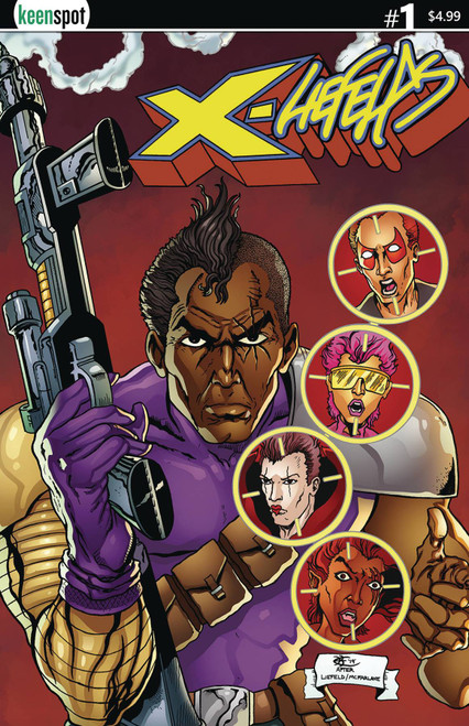 Keenspot Entertainment X-Liefelds #1 Comic Book [Sean Beck Variant Cover C]