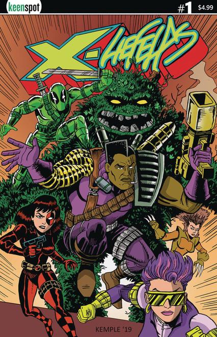 Keenspot Entertainment X-Liefelds #1 Comic Book [Chris Kemple Variant Cover D]
