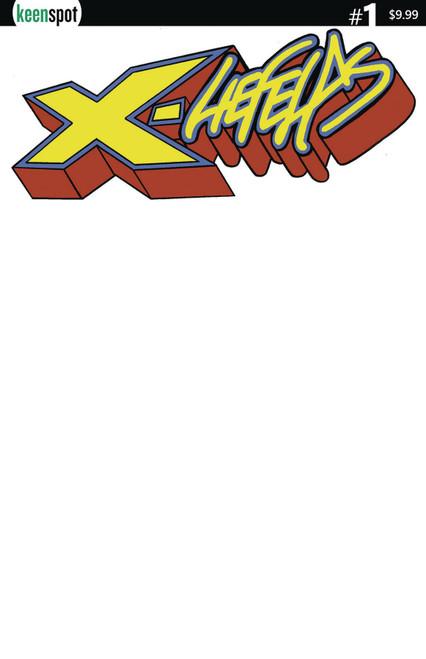 Keenspot Entertainment X-Liefelds #1 Comic Book [Blank Sketch Cover E]