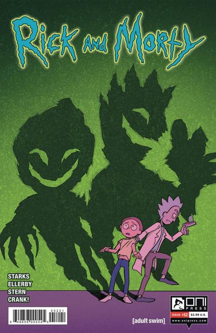 Oni Press Rick & Morty #52 Comic Book [Savanna Ganucheau, Sarah Stern Variant Cover B]