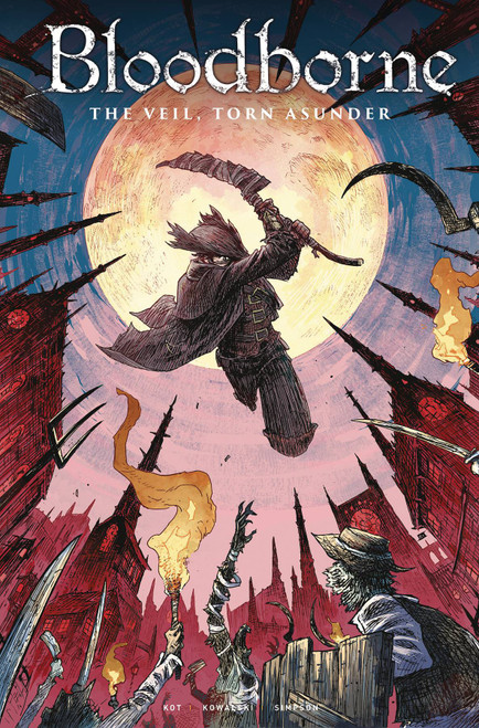 Titan Comics Bloodborne #13 The Veil, Torn Asunder Comic Book