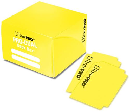 Ultra Pro Card Supplies PRO Dual Yellow Deck Box