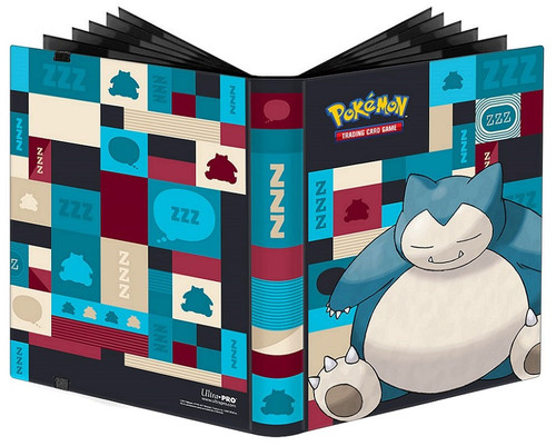 Ultra Pro Pokemon Trading Card Game Snorlax 9-Pocket Pro Binder