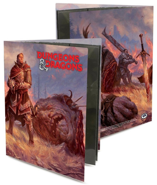 Ultra Pro Dungeons & Dragons Giant Killer Portfolio