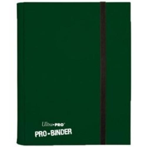 Ultra Pro Card Supplies Pro-Binder Green 9-Pocket Binder