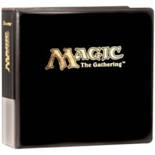 Ultra Pro Magic the Gathering 3-Ring Binder [Black]