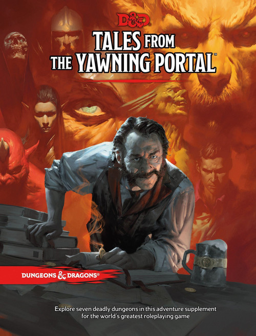 Dungeons & Dragons 5th Edition Tales From The Yawning Portal Hardcover Roleplaying Book
