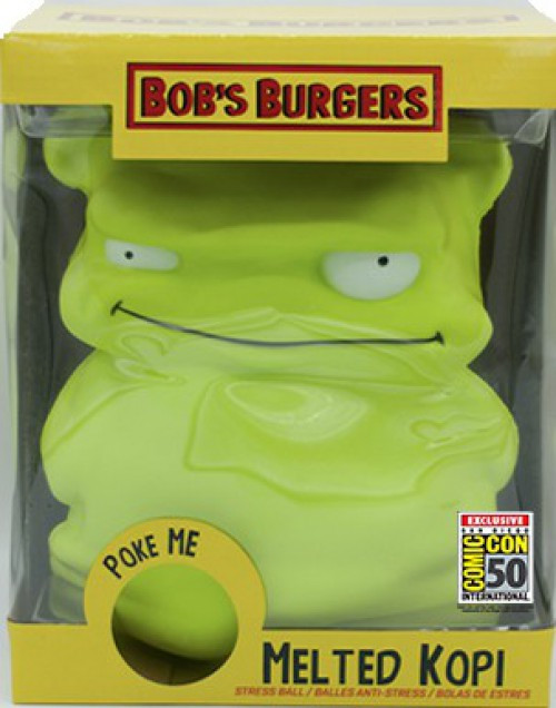 Bob's Burgers Melted Kopi Exclusive 10-Inch Jumbo Squishy