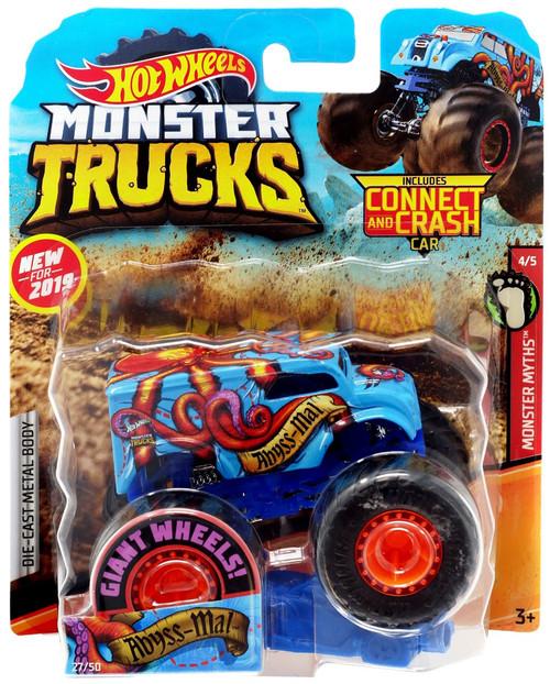 Hot Wheels Monster Trucks Abyss-Mal Diecast Car