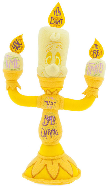 Disney Beauty and the Beast Wisdom Lumiere Exclusive 18-Inch Plush
