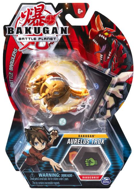 Bakugan Battle Planet Battle Brawlers Bakugan Aurelus Trox