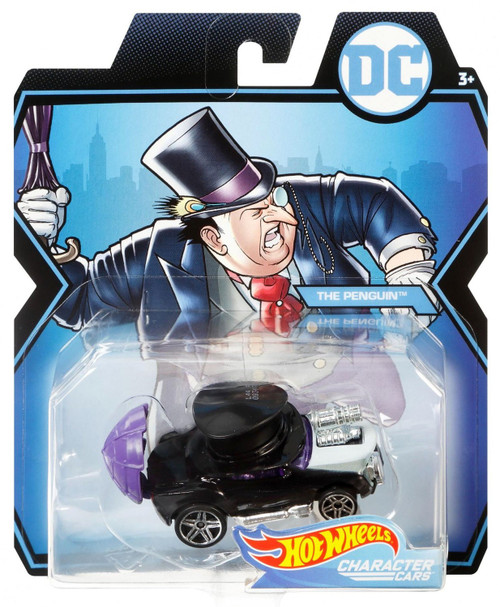 Hot Wheels DC Character Cars The Penguin Diecast Car