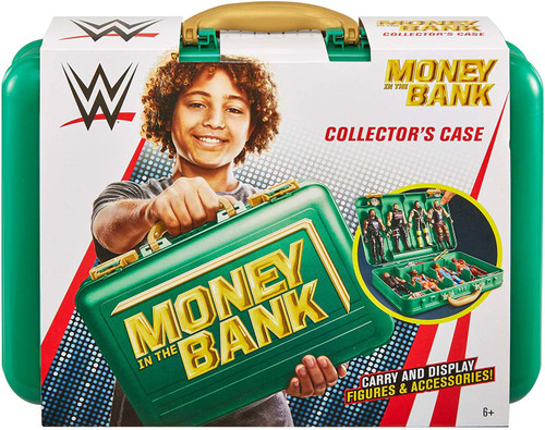 WWE Wrestling Money in the Bank Collector Case [Green Version]