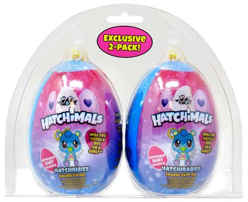 Hatchimals Mini Plush Clip-On Hatchibabies Mystery 2-Pack