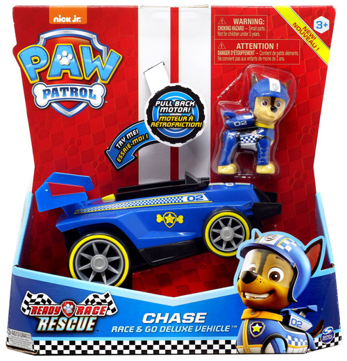 Paw Patrol Ready Race Rescue Race & Go Chase Vehicle & Figure