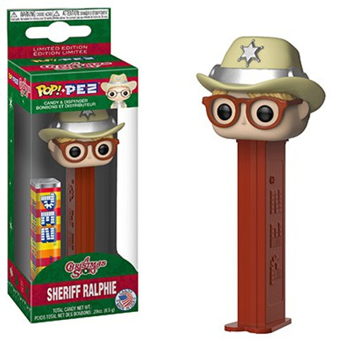 Funko A Christmas Story POP! PEZ Sheriff Ralphie Candy Dispenser