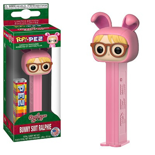 Funko A Christmas Story POP! PEZ Bunny Suit Ralphie Candy Dispenser