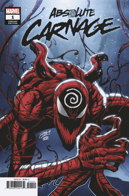 Marvel Comics Absolute Carnage #1 Comic Book [Ron Lim Variant Cover]