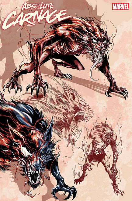 Marvel Comics Absolute Carnage #2 Comic Book [Checchetto Young Guns Variant Cover]