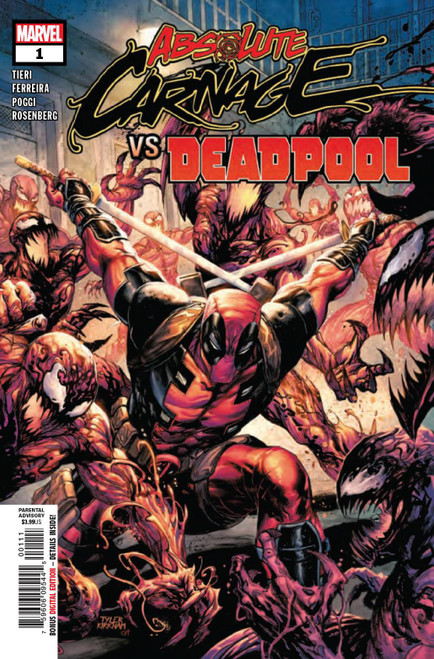 Marvel Comics Absolute Carnage Vs. Deadpool #1 Comic Book