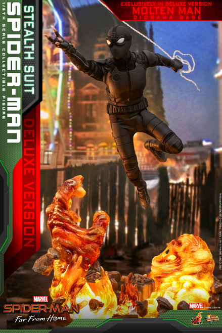 Marvel Spider-Man: Far From Home Movie Masterpiece Stealth Suit Spider-Man Collectible Figure CodeMMS541 [Deluxe Version] (Pre-Order ships January)