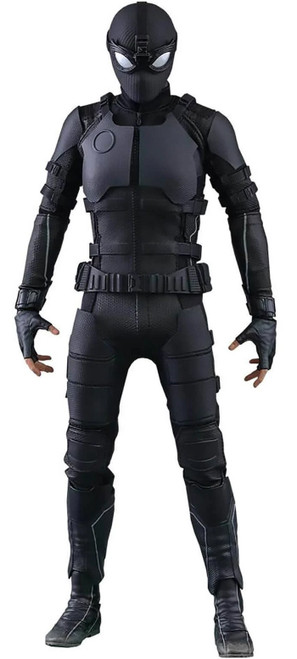 Marvel Spider-Man: Far From Home Movie Masterpiece Spider-Man Stealth Suit Collectible Figure MMS540 [Standard Version]