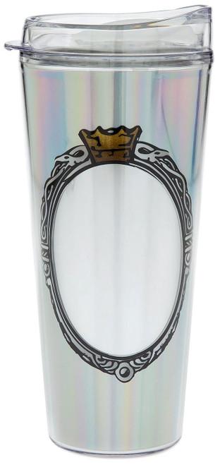 Disney Sleeping Beauty Magic Mirror Metallic Exclusive Travel Tumbler