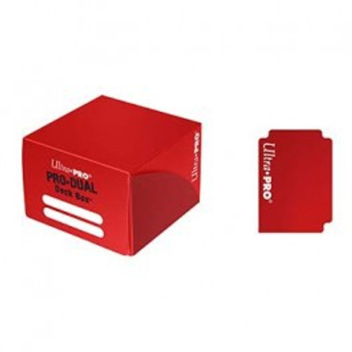 Ultra Pro Card Supplies PRO Dual Red Deck Box