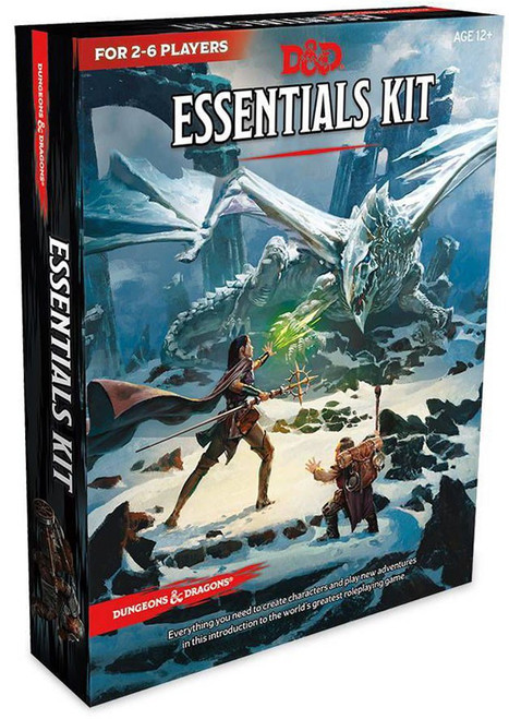 Dungeons & Dragons 5th Edition 5th Edition Roleplaying Game Essentials Kit