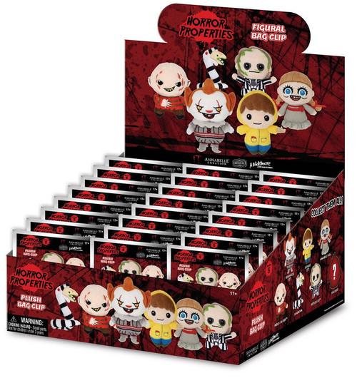 Horror Series 1 Plush Keyring Mystery Box [24 Packs]