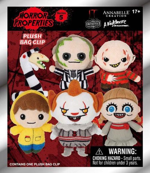 Horror Series 1 Plush Keyring Mystery Pack [1 RANDOM Mini Plush]