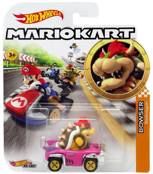 Hot Wheels Mario Kart Bowser Diecast Car [Badwagon]