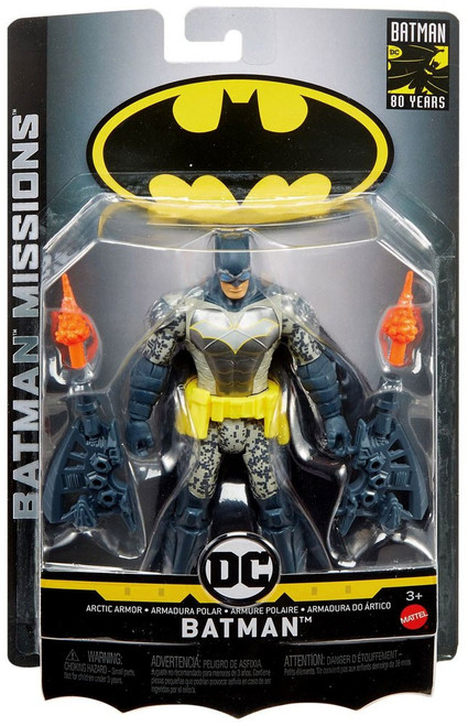 DC Batman Missions Arctic Armor Batman Action Figure
