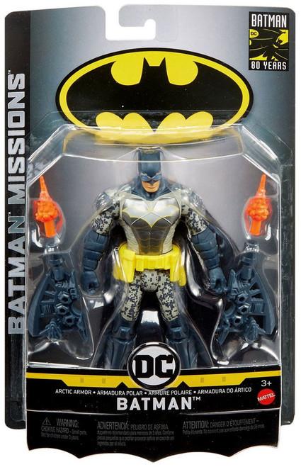 DC Batman Missions Arctic Armor Batman Action Figure