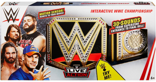 WWE Wrestling Interactive WWE Championship Belt [with Sound]