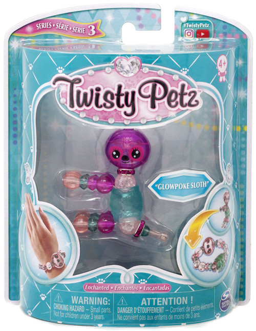 Twisty Petz Series 3 Glowpoke Sloth Bracelet