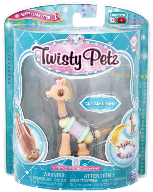 Twisty Petz Series 3 Cupcake Giraffe Bracelet