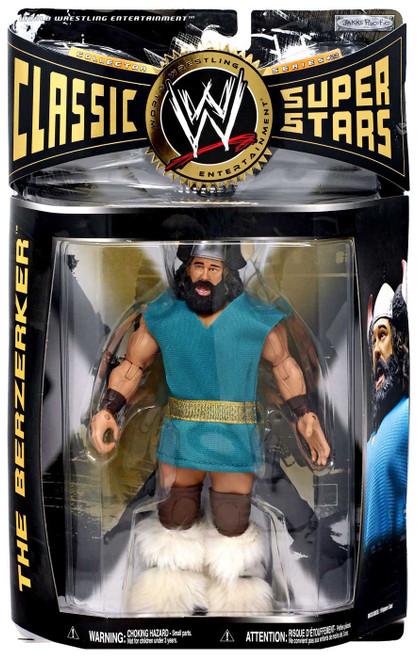 WWE Wrestling Classic Superstars Series 23 Berzerker Action Figure