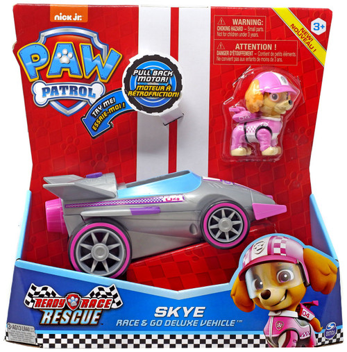 Paw Patrol Ready Race Rescue Race & Go Skye Vehicle & Figure